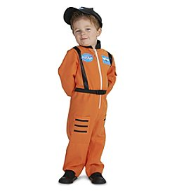 Orange Astronaut Suit Child Costume