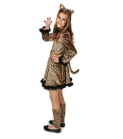 Bold Leopard Dress Tween Costume