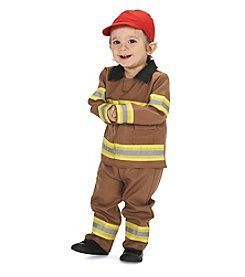 Brave Firefighter with Cap Infant Costume