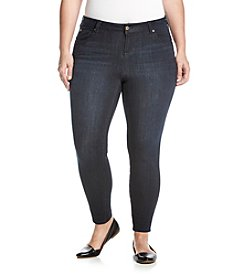 Celebrity Pink Plus Size Stretch Ankle Skinny Jeans