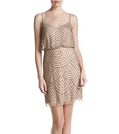 Adrianna Papell® Blouson Bead Dress