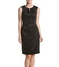 Adrianna Papell® Taffeta Side Dress