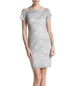 Adrianna Papell® Off-Shoulder Lace Dress