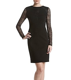 Adrianna Papell® Lace Detail Dress