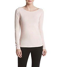 Ivanka Trump® Boat Neck Sweater