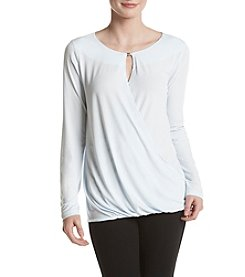 Ivanka Trump® Cross Front Blouse