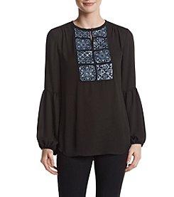 Ivanka Trump® Embellished Blouse