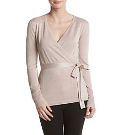 Ivanka Trump® Belted Sweater