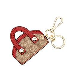 Calvin Klein Monogram Mini Handbag Keychain