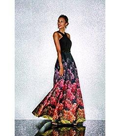 Black Tie Event Pop of Color Dress Look