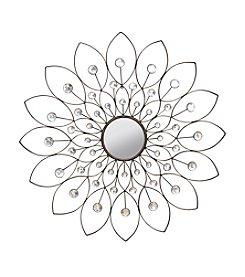 Stratton Home Decor Decorative Flower Mirror