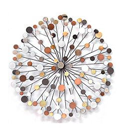 Stratton Home Decor Multicolored Starburst Wall Decor