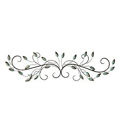 Stratton Home Decor Patina Scroll Leaf