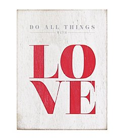 Stratton Home Decor Love Box Art