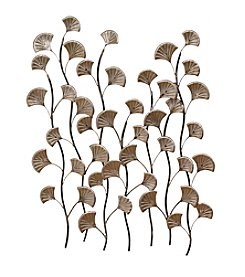 Stratton Home Decor Bronze Ocean Blossoms Wall Decor