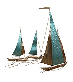 Stratton Home Decor Sailboat Wall Decor