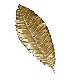 Stratton Home Decor Elegant Leaf Wall Decor