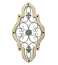 Stratton Home Decor Ornate Panel Wall Decor