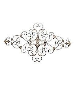 Stratton Home Decor Ornate Scroll Wall Decor