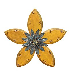 Stratton Home Decor Antique Flower Wall Decor