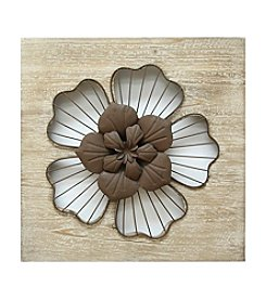 Stratton Home Decor Rustic Flower Wall Decor