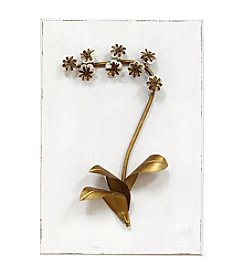 Stratton Home Decor Elegant Floral Wall Decor