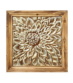 Stratton Home Decor Mixed Material Floral Medallion Wall Decor