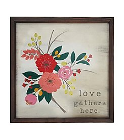 Stratton Home Decor Framed Floral Wall Art