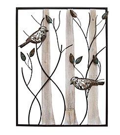 Stratton Home Decor Framed Birds Wall Decor