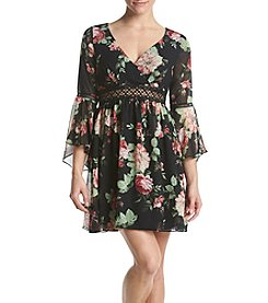 A. Byer Floral Dress