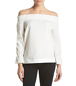 XOXO® Off-Shoulder Peasant Top