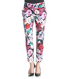 XOXO® Floral Skinny Pants