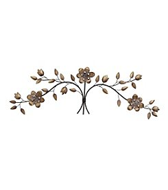 Stratton Home Decor Over the Door Floral Bouquet Wall Decor