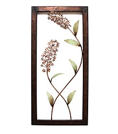 Stratton Home Decor Flower Panel Wall Decor