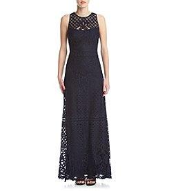 Vera Wang® Lace Overlay Dress