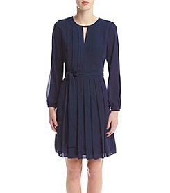Vince Camuto® Pleated Blouson Dress