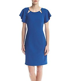 Ivanka Trump® Sheath Scuba Dress