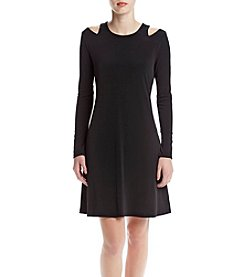 Ivanka Trump® Cold Shoulder Dress