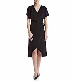 Ivanka Trump® Matte Jersey Shirt Dress