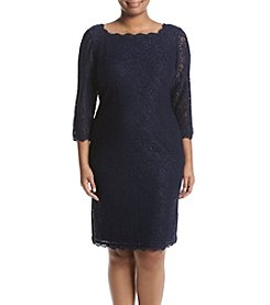 Adrianna Papell® Plus Size Lace Dress