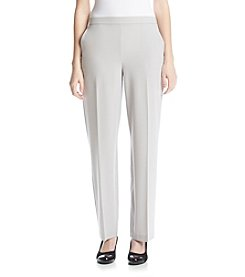 Briggs New York® Flat Front Pull On Pant