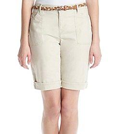 Gloria Vanderbilt® Rachel Bermuda Shorts