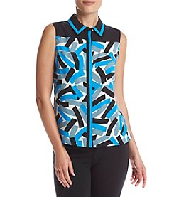 Calvin Klein Geometric Print Blouse