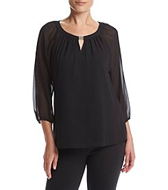 Calvin Klein Key Hole Blouse