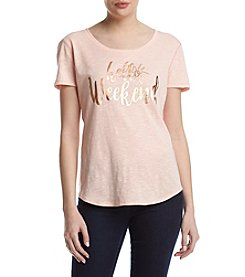 Relativity® Hello Weekend Tee