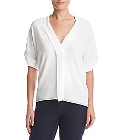 MICHAEL Michael Kors® Deep V-Neck Blouse