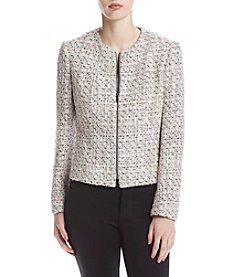 Anne Klein® Zip Front Cardigan Jacket