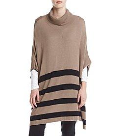 Chelsea & Theodore® Striped Poncho