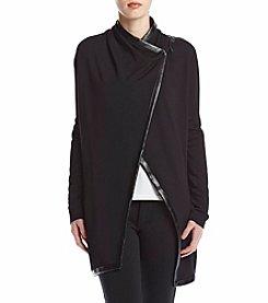 Chelsea & Theodore® Asymmetrical Wrap Cardigan