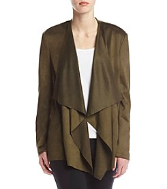 Chelsea & Theodore® Drape Front Jacket